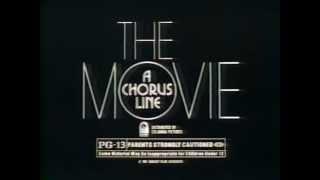 A Chorus Line 1985 TV trailer