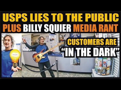 First Amendment AUDIT 16: Billy Squier Media Rant - USPS Lies To The Public - Bridgehampton, NY