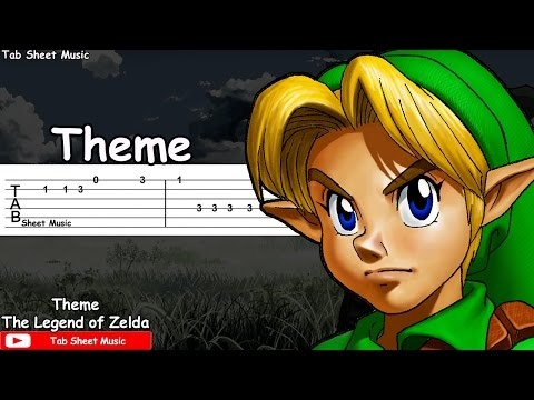 The Legend of Zelda - Theme Guitar Tutorial