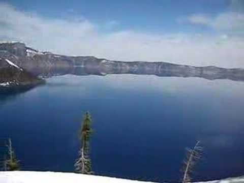 Panoramic View of Crater Lake above Wizard Island