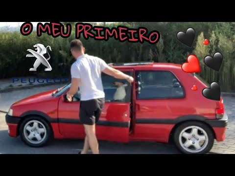 O MEU PRIMEIRO CARRO!♥️ PEUGEOT 106XSI