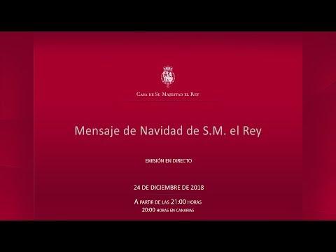 Mensaje de Navidad de S. M. el Rey 2018