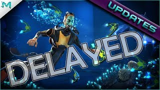Subnautica UPDATES! DELAYED! Ending Details, Checkins, And Twitch!