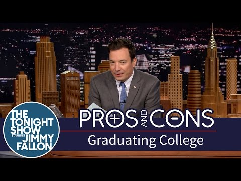 Pros and Cons: Graduating College