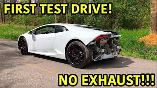 Download Rebuilding A Wrecked Lamborghini Huracan Part 9 Mp3 and Videos
