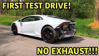 Rebuilding A Wrecked Lamborghini Huracan P