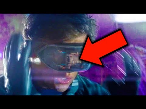 What is READY PLAYER ONE? Comic Con Trailer Breakdown & Easter Eggs!