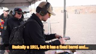 Korth PRS & Sky Marshal Test Drive SHOT Show 2015