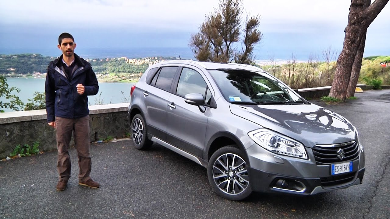 suzuki sx4 s cross prova su strada viyoutube. Black Bedroom Furniture Sets. Home Design Ideas