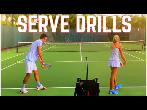 Tennis Serve Drills | Improve Readiness, Control, Consistency, and Placement