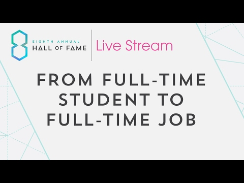 From Full-Time Student to Full-Time Job