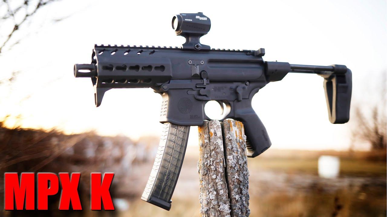 Sig Sauer MPX K First Shots & Impressions: The Best 9mm PCC?