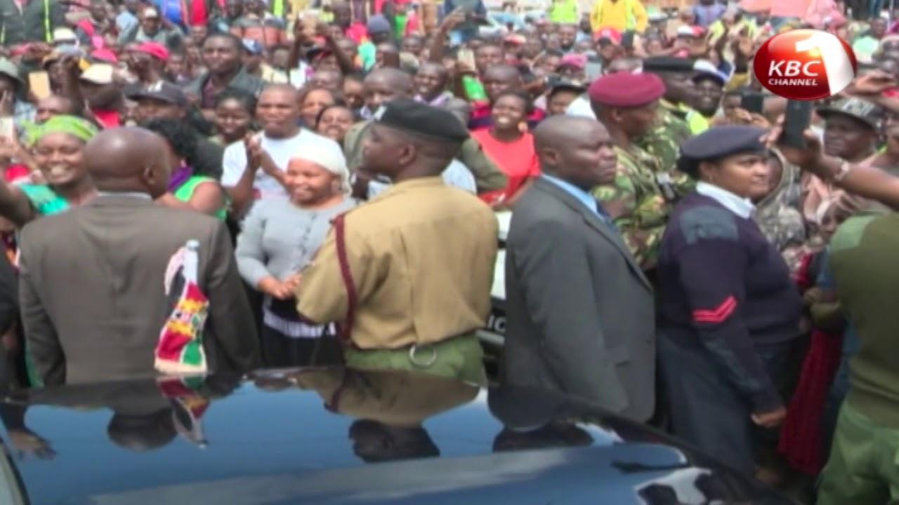 Uhuru Kenyatta assured Kenyans he will devote all his energy to improving their lives