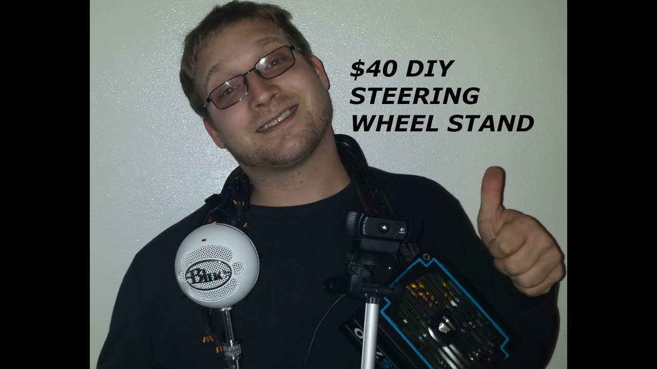 40 Diy Steering Wheel Stand