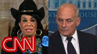 Fredrica Wilson fires back at John Kelly