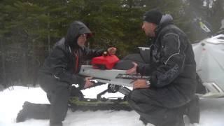 Ams - Action moteur sport WEB - Motoneige -  Les Ice Scratcher en Ski-doo Freeride 154 2014