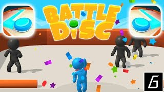 Battle Disc - Gameplay - First Levels 1 - 15 (iOS - Android)