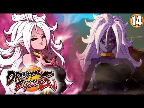 THERE'S A PURE EVIL VERSION OF ANDROID 21!?! Dragon Ball FighterZ Story Mode Walkthrough Part 14