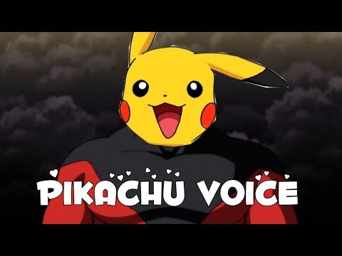 Jiren Moments But With Pikachu Voice | Dragon Ball Super