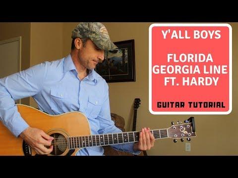 Y'all Boys - Florida Georgia Line ft. Hardy - Guitar Lesson