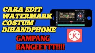Tutorial edit video watermark menggunakan Aplikasi KINE MASTER PRO screenshot 5