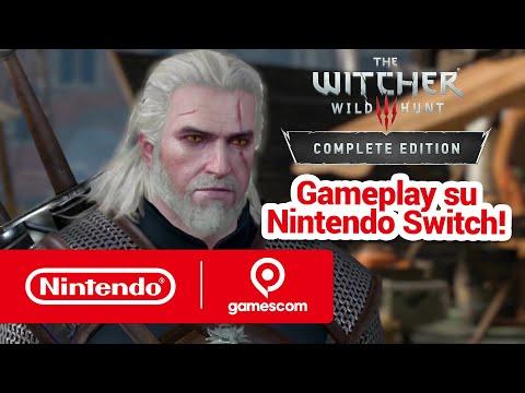 The Witcher 3, Nintendo Switch: dalla Gamescom 2019 arriva un video di gameplay | Game Division