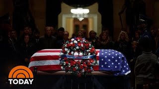 George H.W. Bush's Funeral: NBC Anchors Remember His Legacy   TODAY