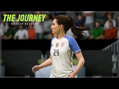 FIFA 18 The Journey Hunter Returns: Kim Hunter Pemain Timnas USA?! #16 (Bahasa Indonesia)