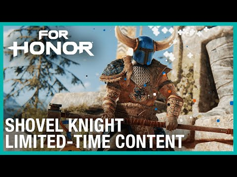 For Honor: Shovel Knight Crossover Announce | Ubisoft [NA]