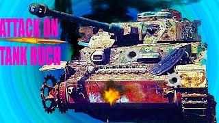 ATTACK ON TANK RUCH как World of Tanks игра про танки видео мультик для детей
