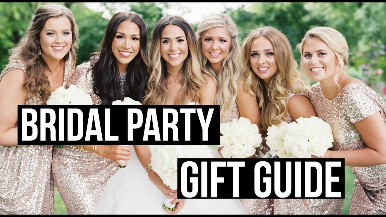 Wedding Party Gift Ideas Groomsmen: BRIDAL PARTY GIFT GUIDE! Ideas For Bridesmaids, Groomsman