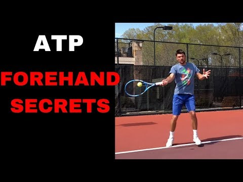 Discover the SECRETS of a SUCCESSFUL FOREHAND! Tennis Forehand video analysis