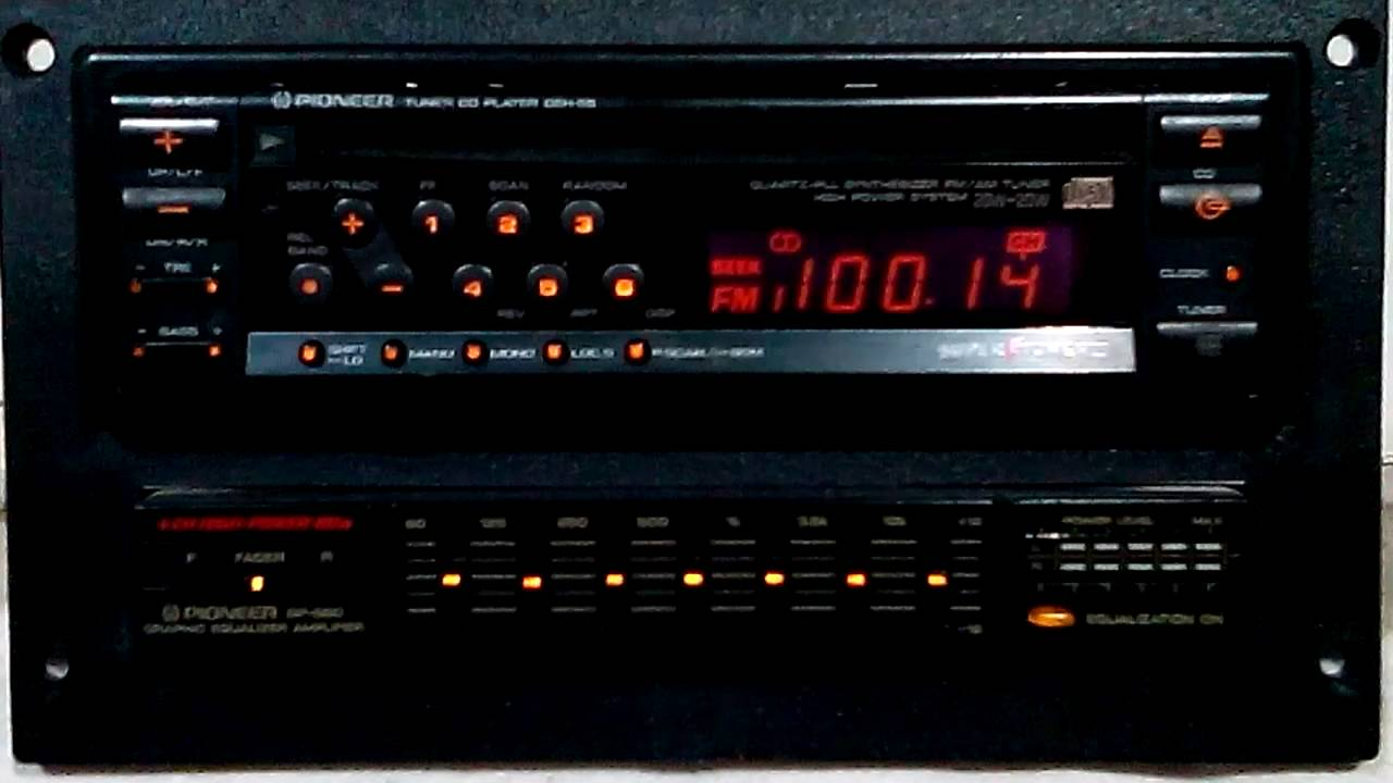 Vintage pioneer deh 55 am fm cd car stereo with bp 880 eq saleen 2 vintage pioneer deh 55 am fm cd car stereo with bp 880 eq saleen 2 youtube asfbconference2016