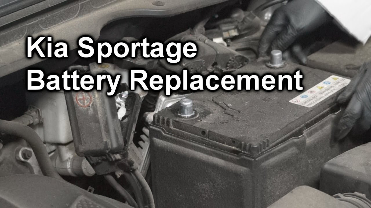 Kia Sportage Battery Replacement The Battery Shop Youtube