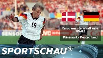 Das EM-Finale 1992 - Dänemark gegen Deutschland in voller Länge | Sportschau