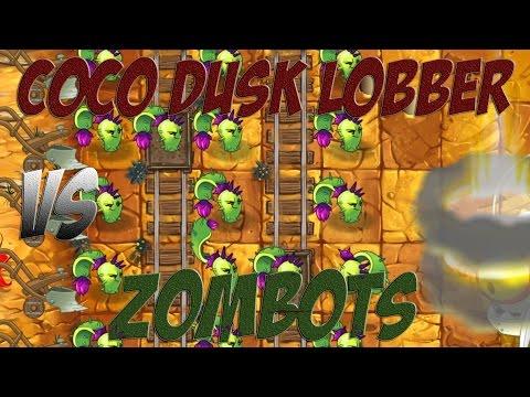 Plants vs Zombies 2 Epic Hack : The COCO Dusk Lobber vs Each Freakin