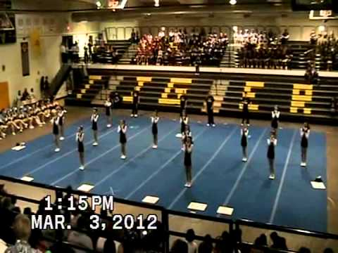 Mountain View Middle School @ White Sands Slam Cheer Competition, March 3, 2012