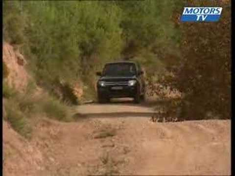 Car Test MITSUBISHI PAJERO