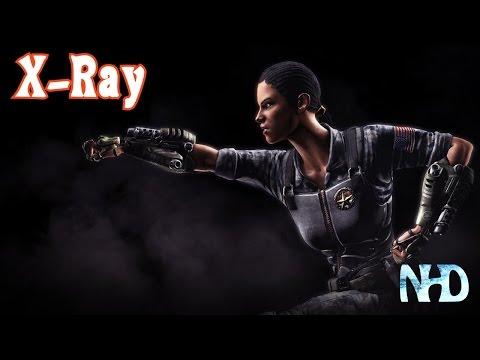 Mortal Kombat X: Jacqui Briggs [X-Ray]