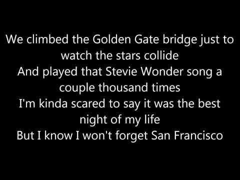 Galantis feat. Sofia Carson - San Francisco LYRICS