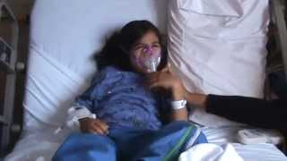 blanket joseph Jackson at Hospital with nanny