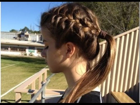 cute braided hairstyles white