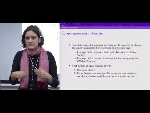 Esther Duflo : Repenser la pauvreté, l'économie expérimentale au service du développement humain