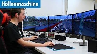 Höllenmaschine 7: Train Simulator & YouTube-Workflow mit User-Tester Florian