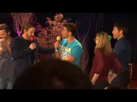 Supernatural cast strips Matt Cohen DCCon
