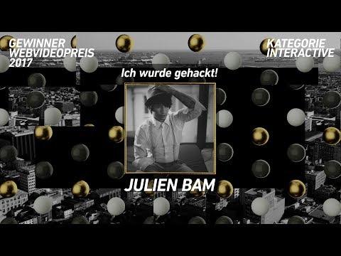 Julien Bam gewinnt den Webvideopreis 2017 in der Kategorie Interactive!