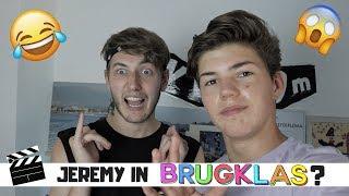 REAGEREN OP BRUGKLAS MET JEREMY!! | Vincent Visser