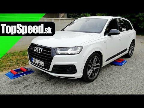 Audi SQ7 4x4 intelligence test - TopSpeed.sk