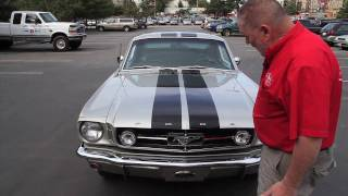 "1965 FORD MUSTANG FASTBACK   "" SOLD ""  Drager's International Classic Sales  206-533-9600"