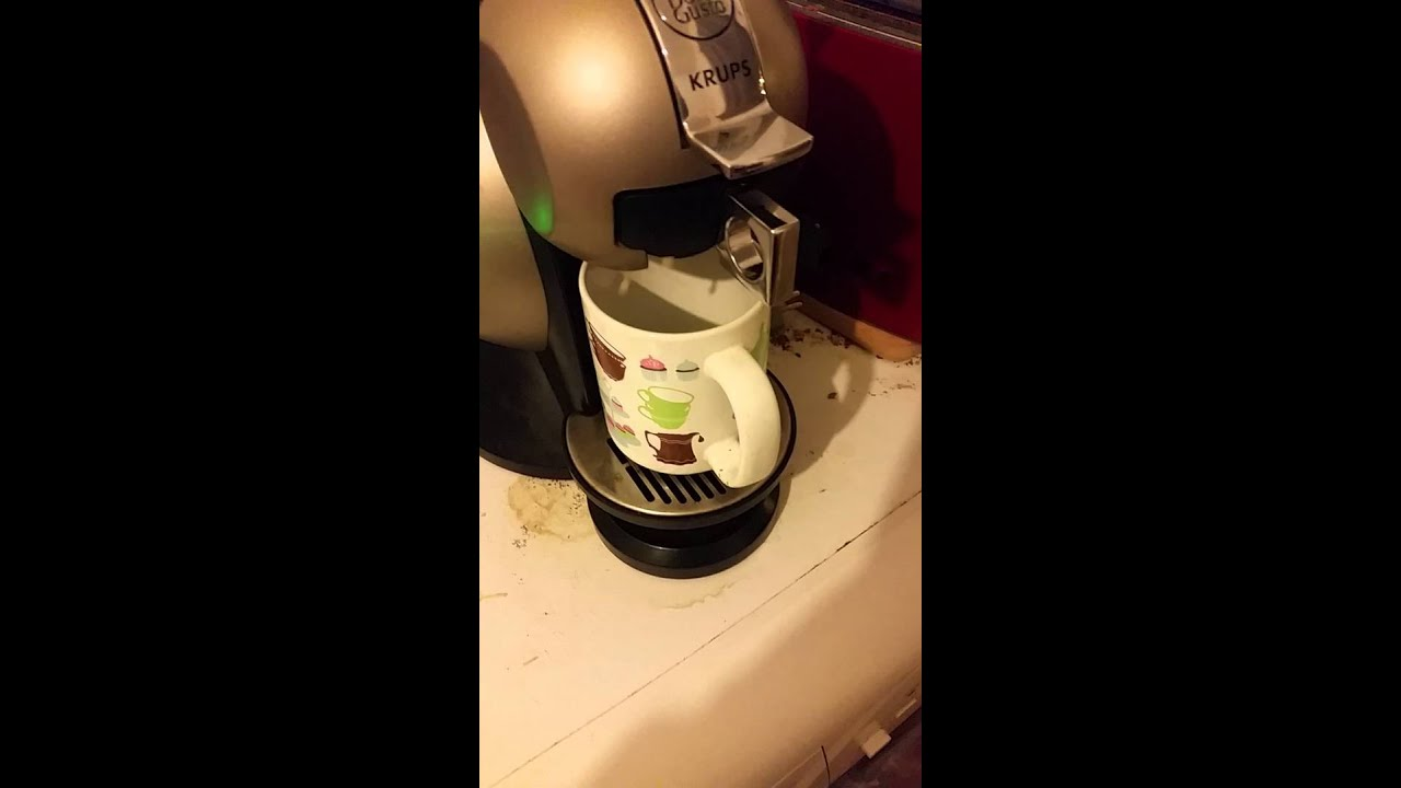 dosette cafe royal sur dolce gusto krups youtube